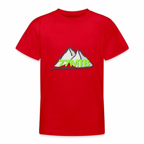 77MTB- Wir biken für einen guten Zweck - Teenager T-Shirt