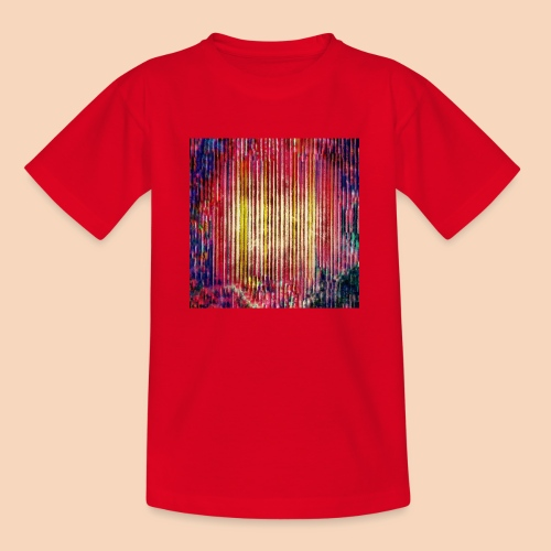 Abstraktes Kunst-Design 2714 by Todd Wichert - Teenager T-Shirt