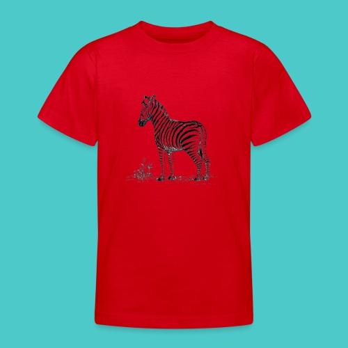 Cebra - Camiseta adolescente