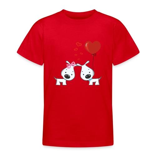 Hunde_Liebe - Teenager T-Shirt