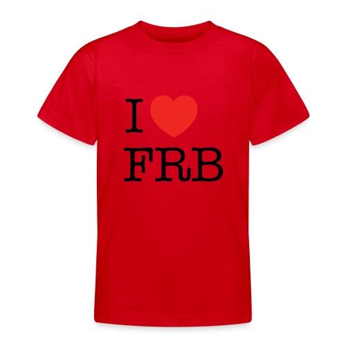 I Love FRB - Børnekollektion - Teenager-T-shirt