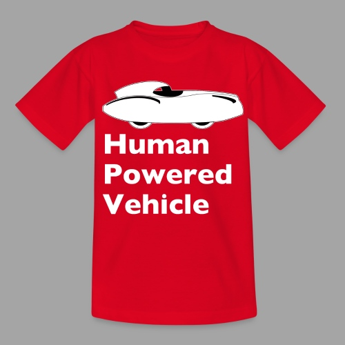 Quattrovelo Human Powered Vehicle white - Nuorten t-paita
