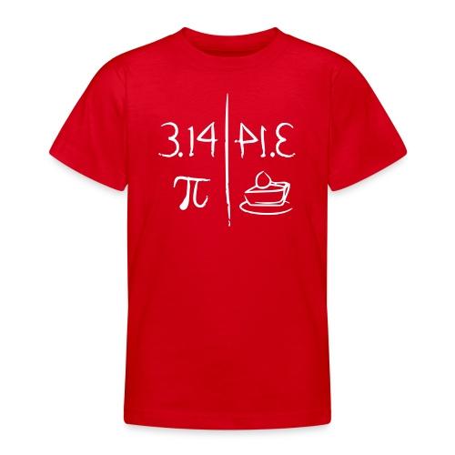 pi vs pie - Teenage T-shirt