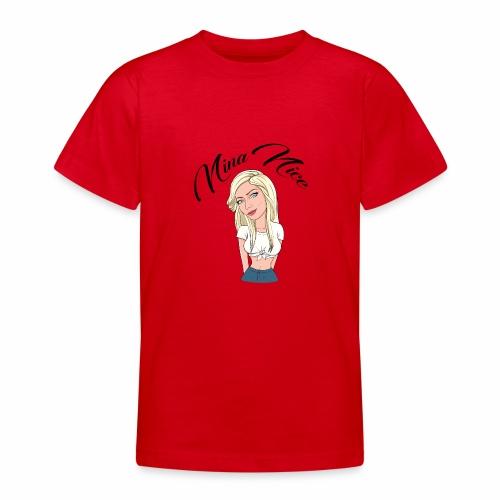 Nina Nice Portrait - Teenager T-Shirt