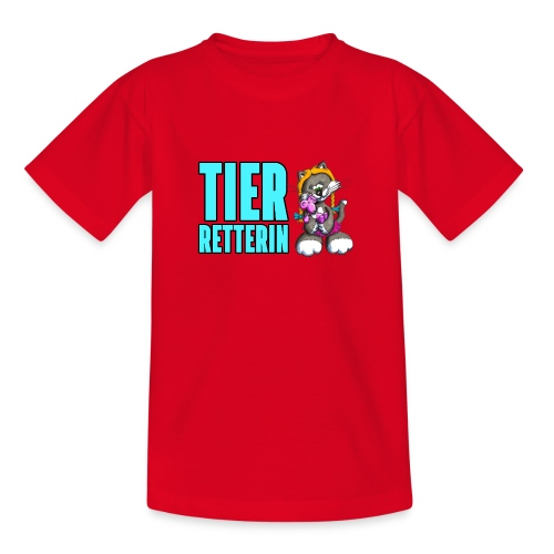 Elli rettet Tiere! - Teenager T-Shirt