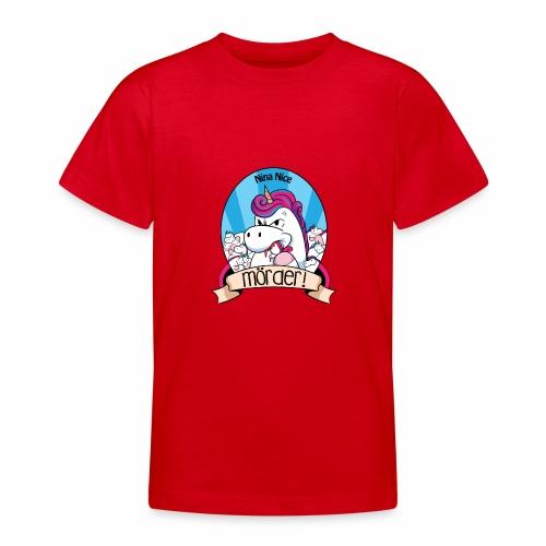Murder Unicorn - Teenager T-Shirt