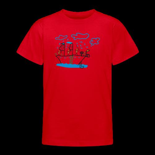 Piratenschiff - Teenager T-Shirt