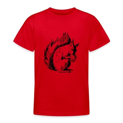 écureuil amandes - T-shirt Ado