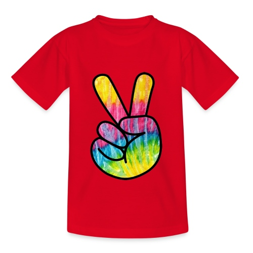 Peace Out Dude - Teenage T-shirt