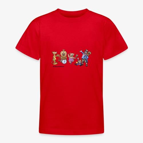 Musik-Zirkus - Teenager T-Shirt