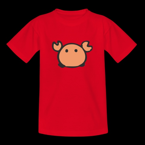 Flumdu_Family Crab - Teenage T-Shirt