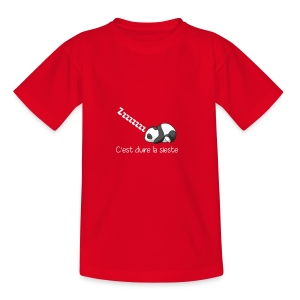 Panda Dodo (Dormir) - T-shirt Ado