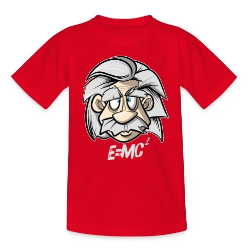 Albert Einstein E=MC2 - Teenager T-Shirt