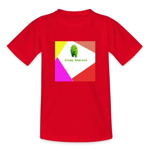Study Android - Camiseta adolescente