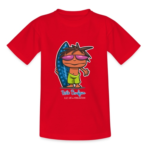 Petit Surfeur Réunion - T-shirt Ado