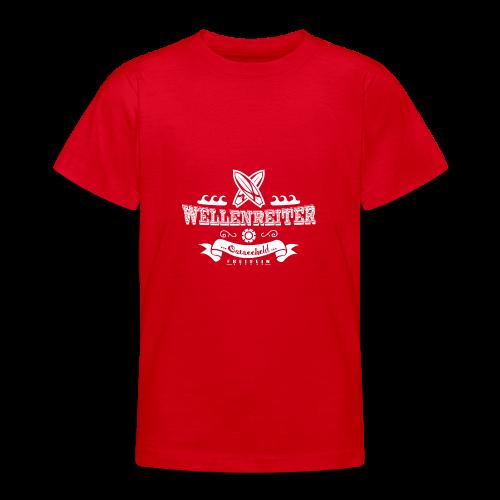 Geweihbaer Wellenreiter - Teenager T-Shirt