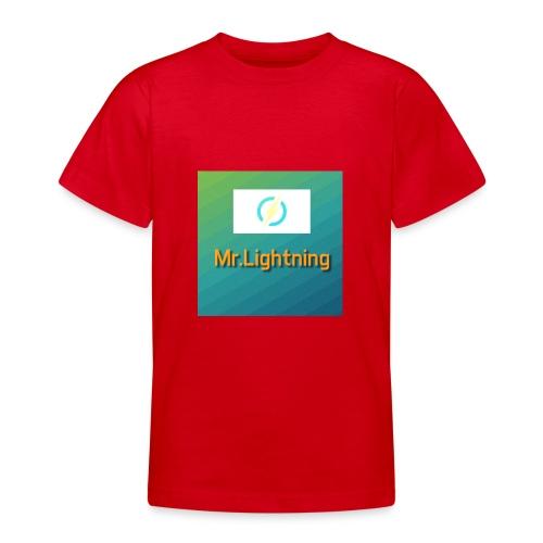 Mr.Lightning - Teenager T-Shirt