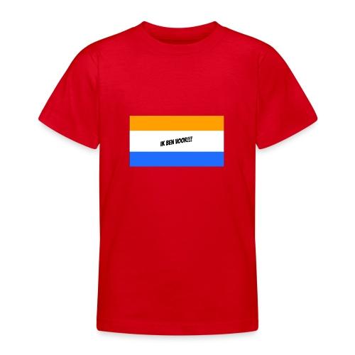 Ik ben voor!! - Teenager T-shirt