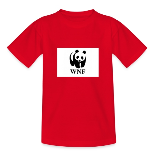 wnf logo panda - Teenager T-shirt