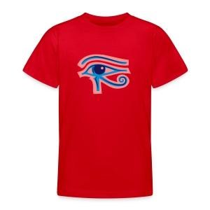 Ägypten-Auge des Horus - Teenager T-Shirt