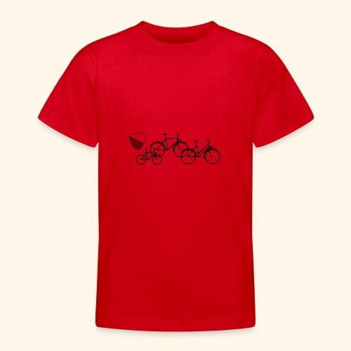 Velostadt Zürich Familie - Teenager T-Shirt