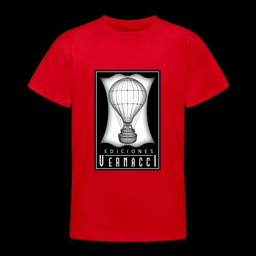 logotipo de ediciones Vernacci - Camiseta adolescente