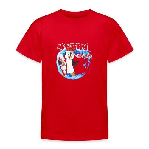 Pinguin Weihnachten - Teenager T-Shirt