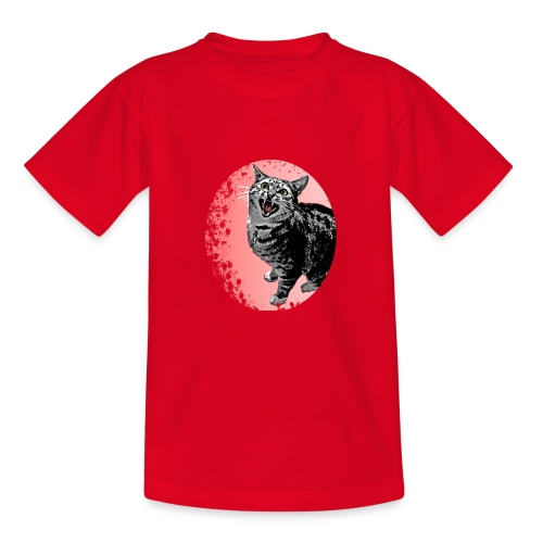 Meow Cat - Teenager T-Shirt