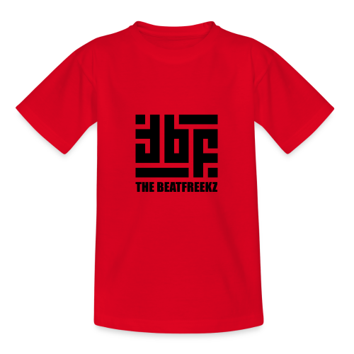 the beatfreekz logo 3 black - Teenage T-Shirt