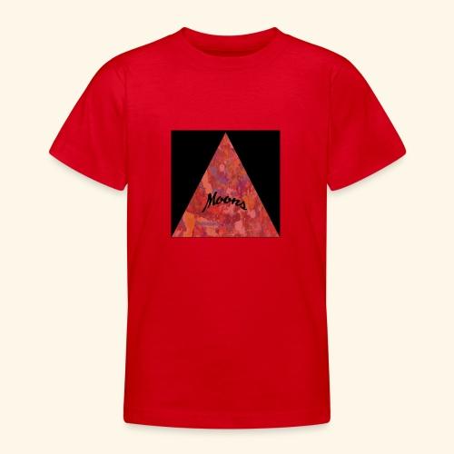 Moons rojo tri - Camiseta adolescente