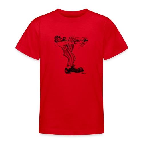 Immer dieser Quirax mit den Schuhen! - Teenager T-Shirt