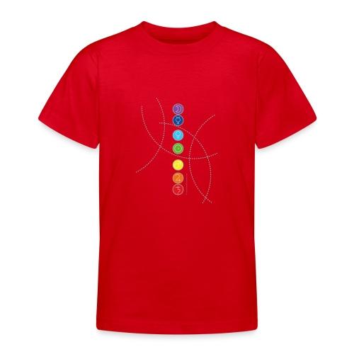 Les 7 chakras - T-shirt Ado