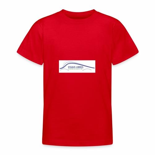 ESSAIS LIBRES - T-shirt Ado