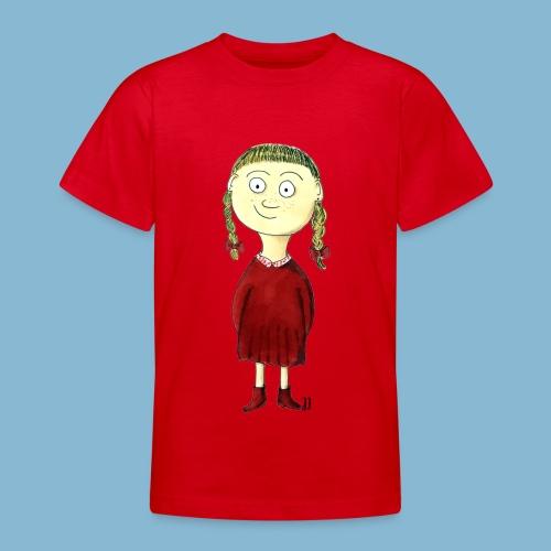 Martha mit den Zöpfen - Teenager T-Shirt
