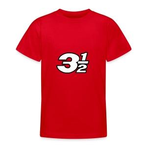 Three and a Half Logo - Teenage T-shirt