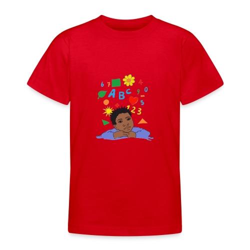 schoolkid 001 - Teenager T-Shirt