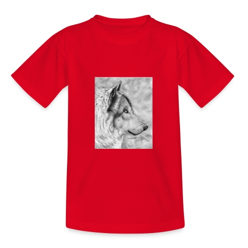 AAAAdibujo_plastica_lobo_jana-jpg - Camiseta adolescente