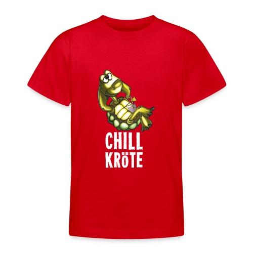 Chillkröte - Teenager T-Shirt