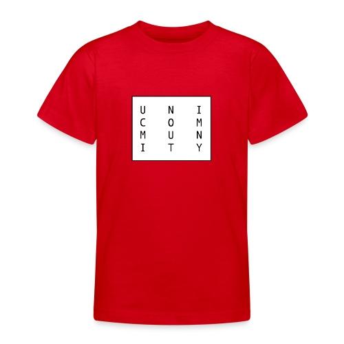 uni logo - Teenager T-Shirt