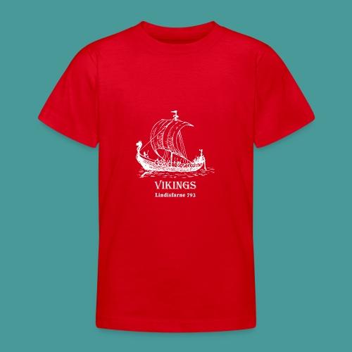vikings Lindisfarne 793 - T-shirt tonåring