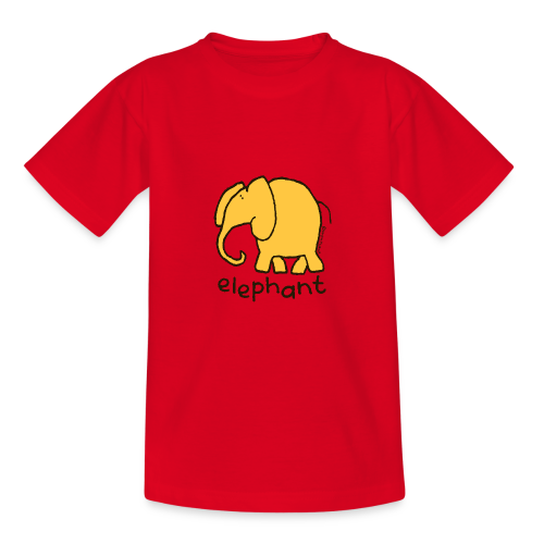 'elephant' - Bang on the door - Teenage T-Shirt