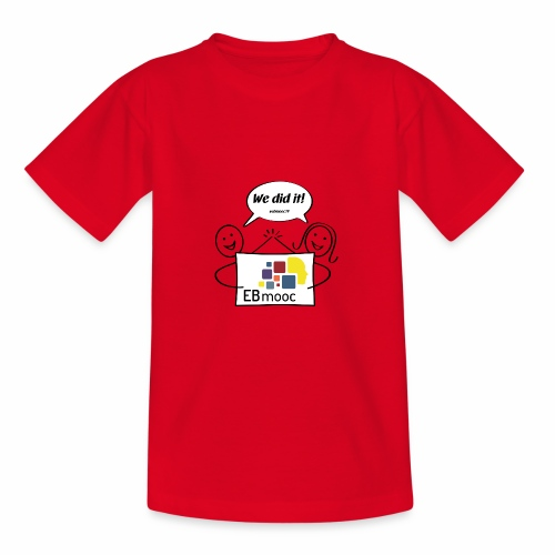EBmooc 2017 Abschluss Comic - Teenager T-Shirt