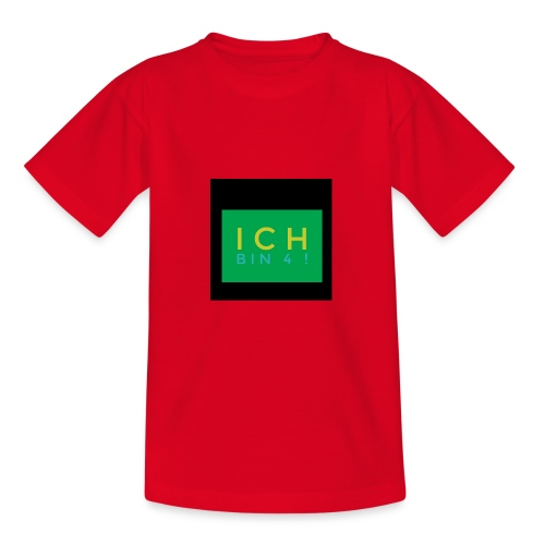 IMG 0270 Ich bin 4 - Teenager T-Shirt