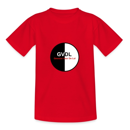 GVDL Logo - Teenager T-shirt
