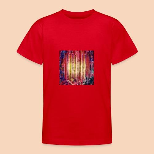 Abstraktes Kunst-Design 2714 by Todd Wichert - Teenager T-Shirt