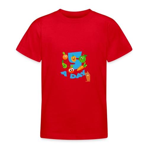 Duna five a day - T-skjorte for tenåringer