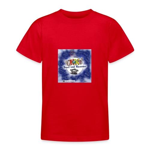 Web-Comic-Projekt Knuud und Ksavver - Teenager T-Shirt