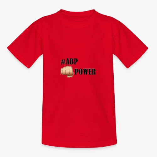 #ABP-POWER-NOIR - T-shirt Ado
