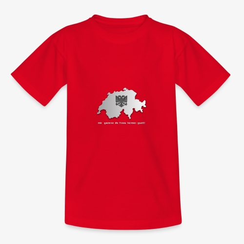 Schweiz & Albanien WM Shirt - Teenager T-Shirt