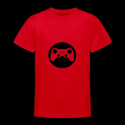 Zocker Prototype (Controller) Logo schwarz - Teenager T-Shirt